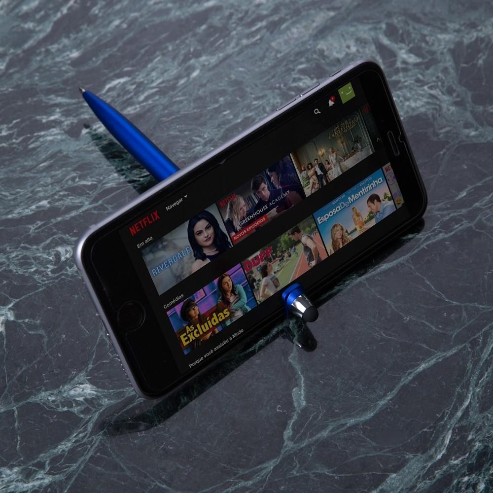 Caneta Touch Screen Universal Personalizada Para Celular, Tablet e Suporte de Celular