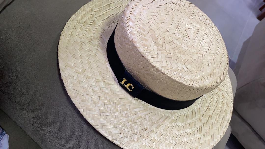 Chapéu Paris de Palha Aba Média Bordado ou Fita Personalizada Impressão Digital - Unissex