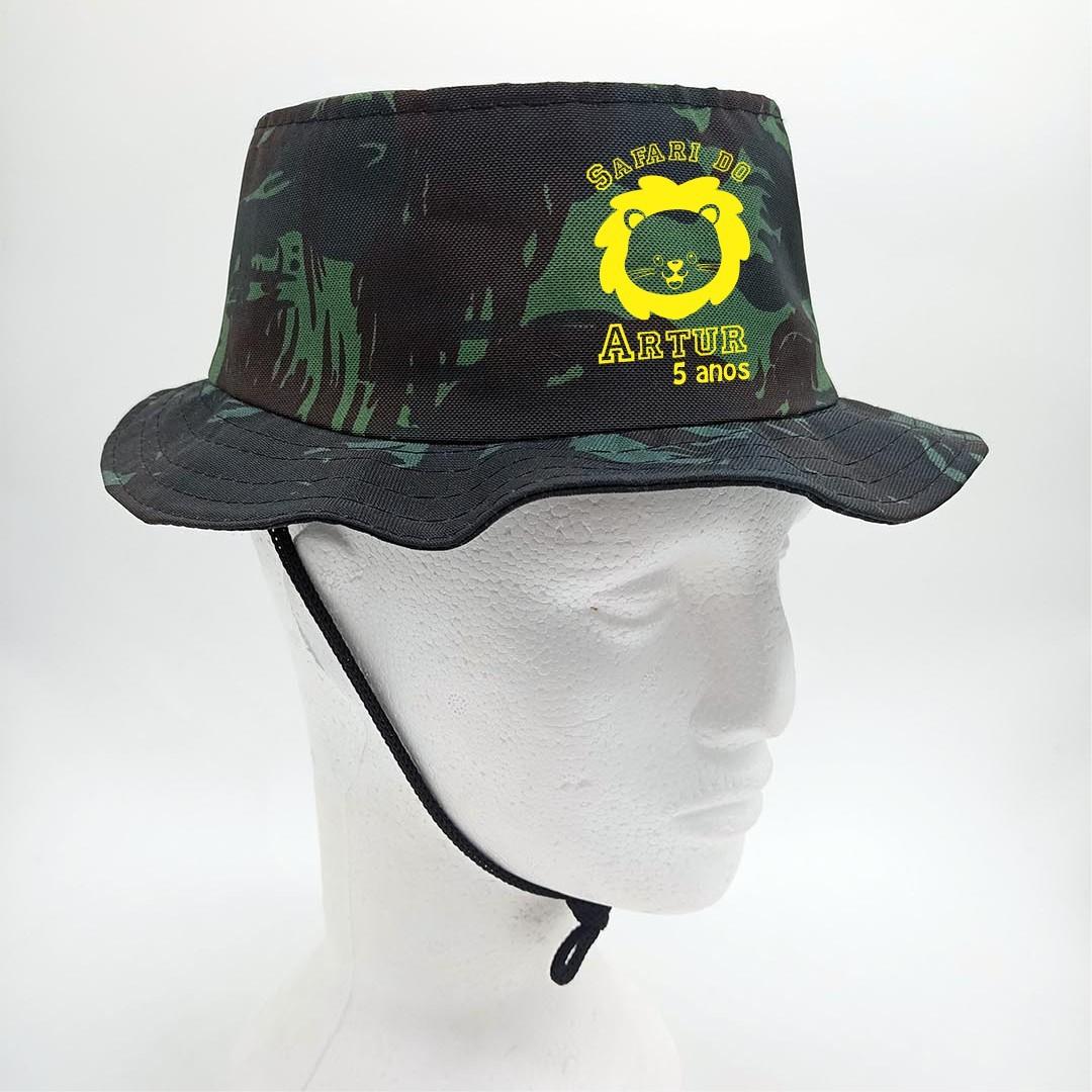 Chapéus Australiano Infantil Personalizado Pintado em Silk