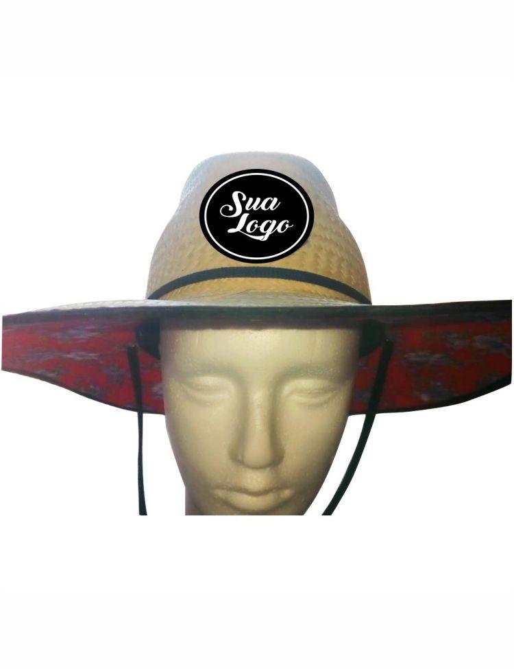 Chapéus De Palha Beach Praia Personalizado Com Sua Logo