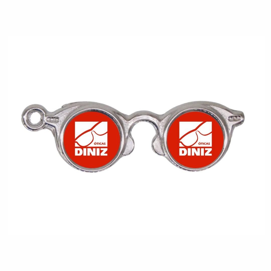 Chaveiro Óculos Personalizado Com Sua Marca