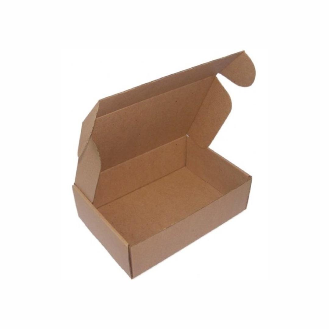 Kit 50 Caixas de Papelão Lisas para Envio dos Correios e E-commerce 20x10x5,5cm Montável C55