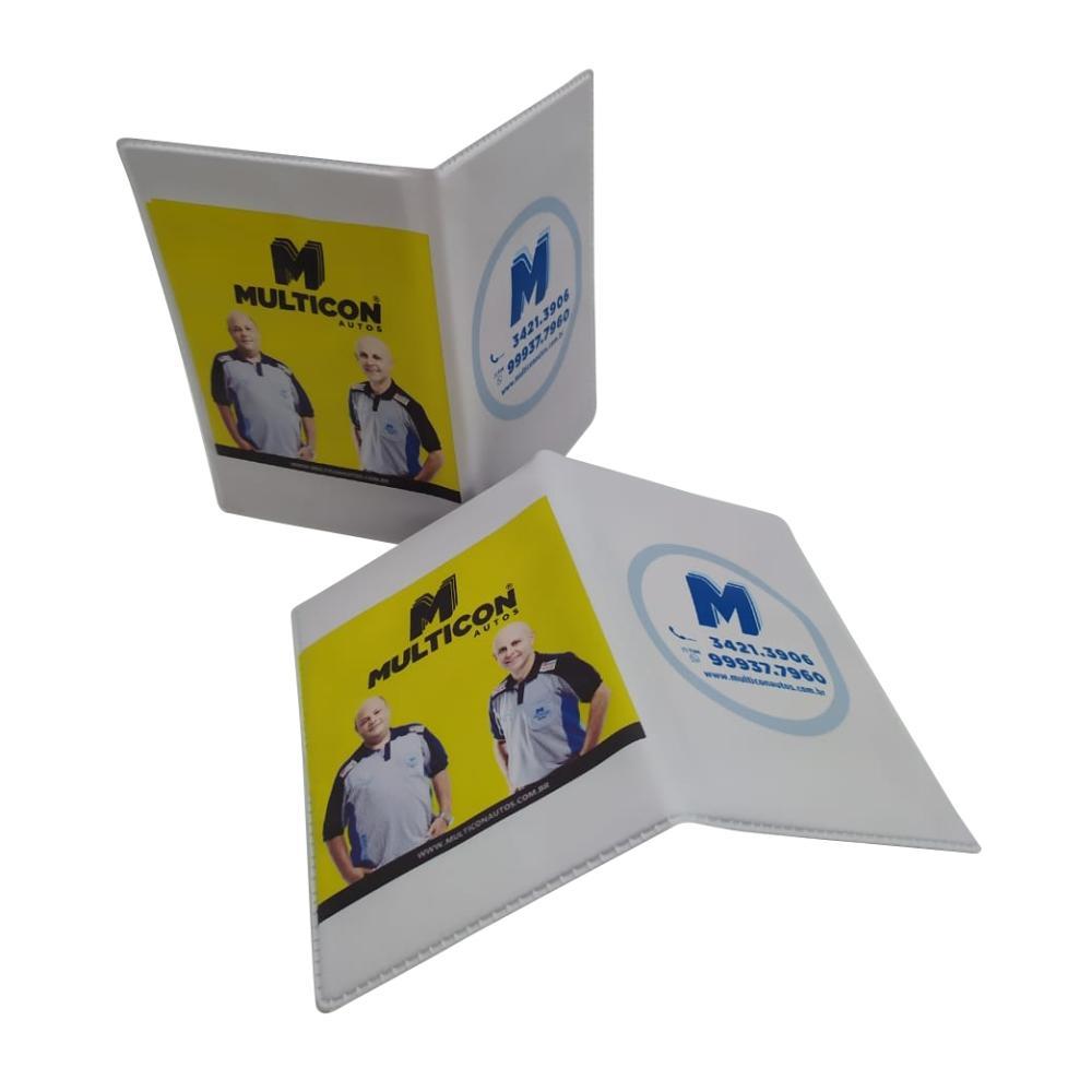 Kit Oficina 5 - Porta Documentos, Adesivos Troca de Óleo, Chaveiro e Flanelas