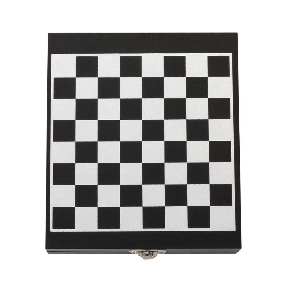 Kit Vinho formato Xadrez 4 peças