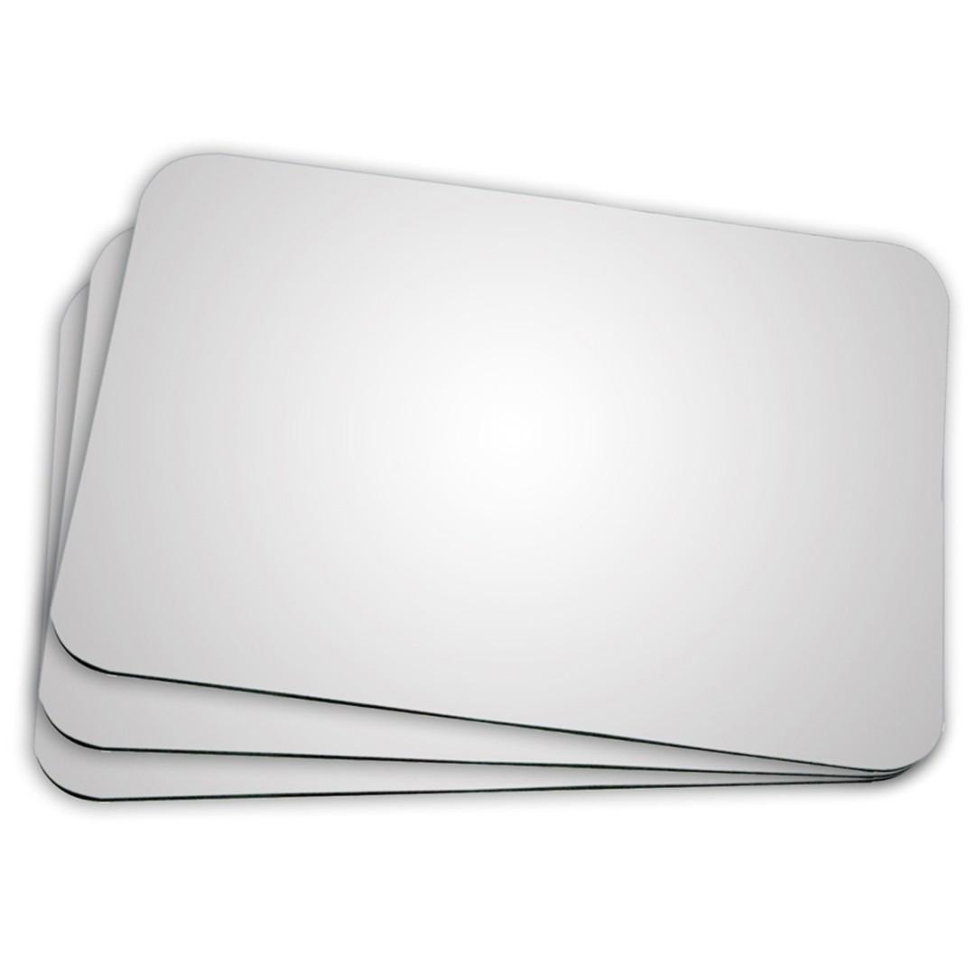Mouse Pad Retangular 18x22cm Em Neoplex liso para Sublimação