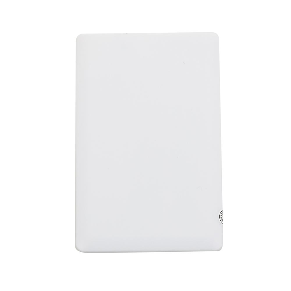 Power Bank Plástico Formato Cartão com indicador Led capacidade 1200mAh - Ref.:  12984