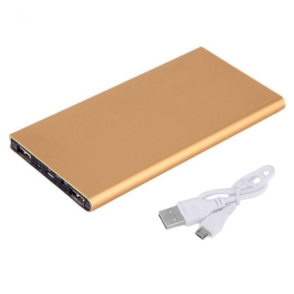 Powerbank 20000 mah ultra-fino duplo usb portátil