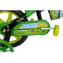 Bicicleta Infantil Cairu Aro 12 Lion com Rodinha e Garrafinha Preto e Verde