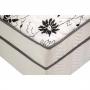Conjugado Unibox Casal Union Spring Molas Espuma Branco Preto 138x188x43
