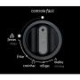 Cooktop Consul 5 Bocas com controle fácil e acendimento automático 127v Preto CD075AE