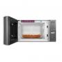 Micro-ondas Electrolux 27L com 55 Receitas pré-programadas no Menu Online 127v Prata MS37R