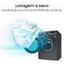 Lava e Seca Samsung 11kg 3 em 1 com Ecobubbl e Lavagem a Seco 127v Inox WD11M4453JX