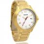 Relógio Magnum Masculino Analógico MA31355H Dourado e Branco