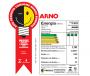 Ventilador de Mesa Arno Super Force 30cm 3 Velocidades 4 Pás 47W 127V Preto VEF3