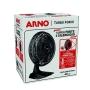 Ventilador de Mesa Arno Turbo Force 40cm 6 Pás 127v Preto VF49