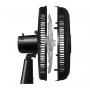 Ventilador de Mesa Mondial Classic Home 30cm 3 Velocidades 6 Pás 127v Preto NV-15