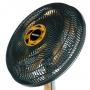 Ventilador de Mesa Mallory TS40+ 40cm 3 Velocidades 127v Preto Dourado B94401181