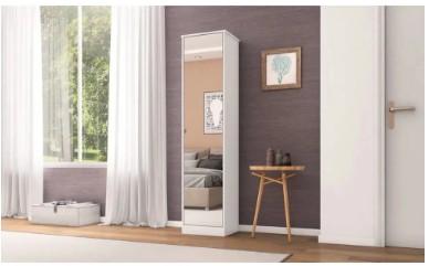 Armário Multiuso Reflex II Com Espelho Branco 21170 Demobile