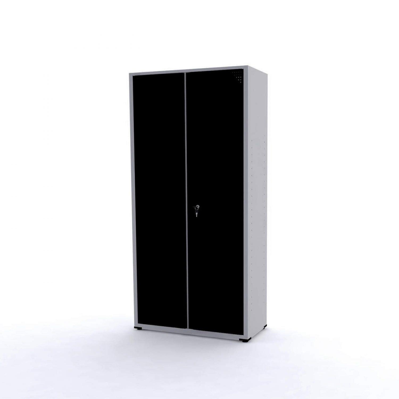 Armário de aço pandin preto