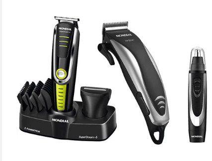 Kit Barbeador Mondial Especial Barber III KT87 127V