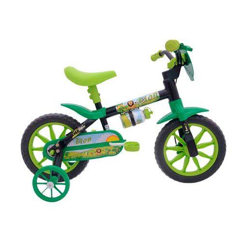 Bicicleta Cairu Aro 12 Lion Preto Com Verde