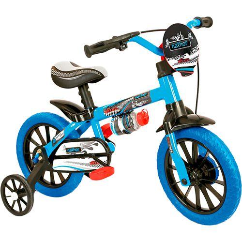 Bicicleta Cairu Aro 12 Veloz Azul