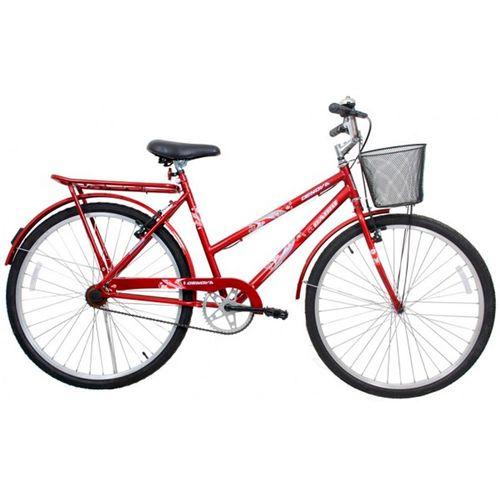 Bicicleta CAIRU Aro 24 Genova Vermelha