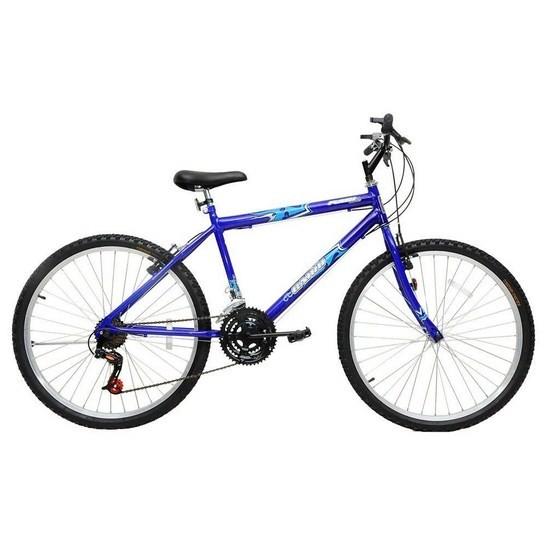 Bicicleta de Passeio Cairu Aro 26 Flash Bike Azul