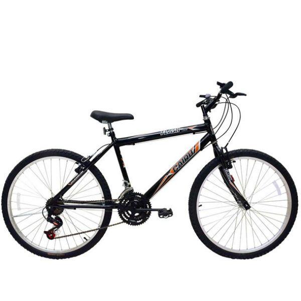 Bicicleta de Passeio Cairu Aro 26 Flash Bike Preta