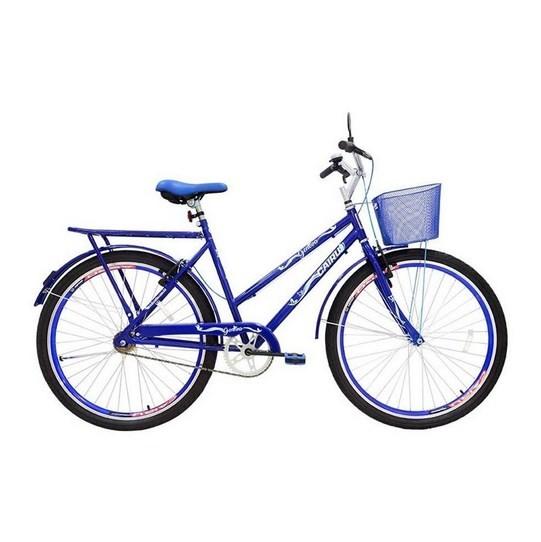 Bicicleta Cairu Aro 26 Genova Azul