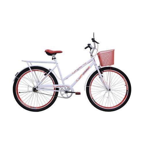 Bicicleta CAIRU Aro 26 Genova Braco/Vermelha