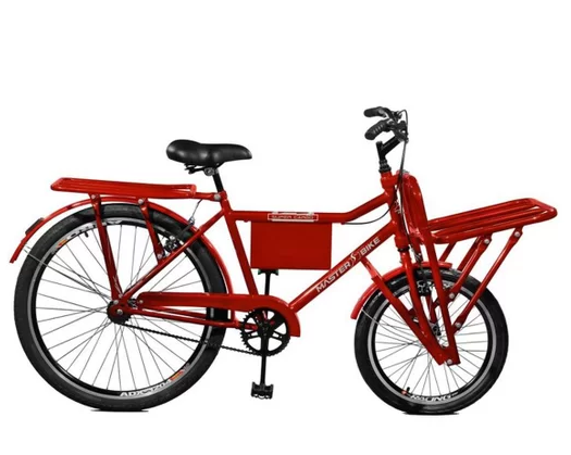 Bicicleta CAIRU Carga Pesada Vermelha