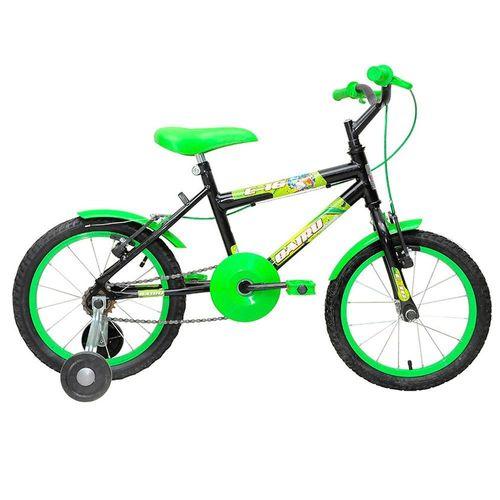 Bicileta Cairu Aro 16 Masculina C-16 Verde