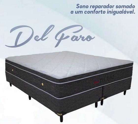 Box Colchão Socimol Del Faro 160x200x69