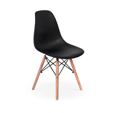 Cadeira Eames Eiffel Preta Porto Design