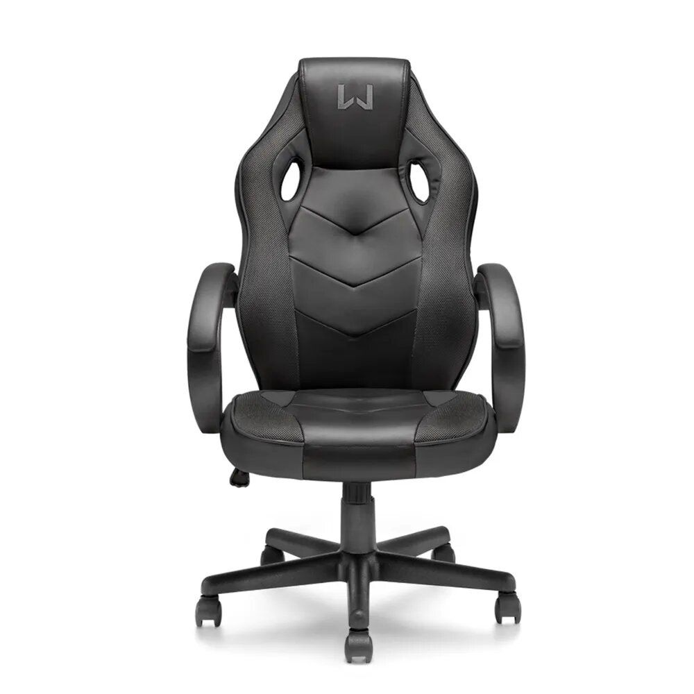 Cadeira Multilaser Gamer c/ Função Basculante Suporta até 120Kg Preta Warrior - GA182
