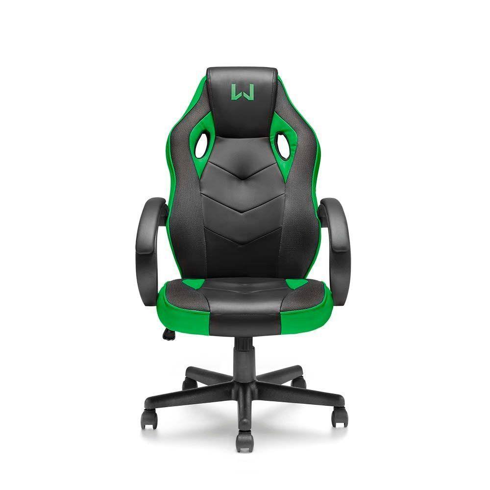 Cadeira Gamer Warrior Verde  Multilaser- GA160