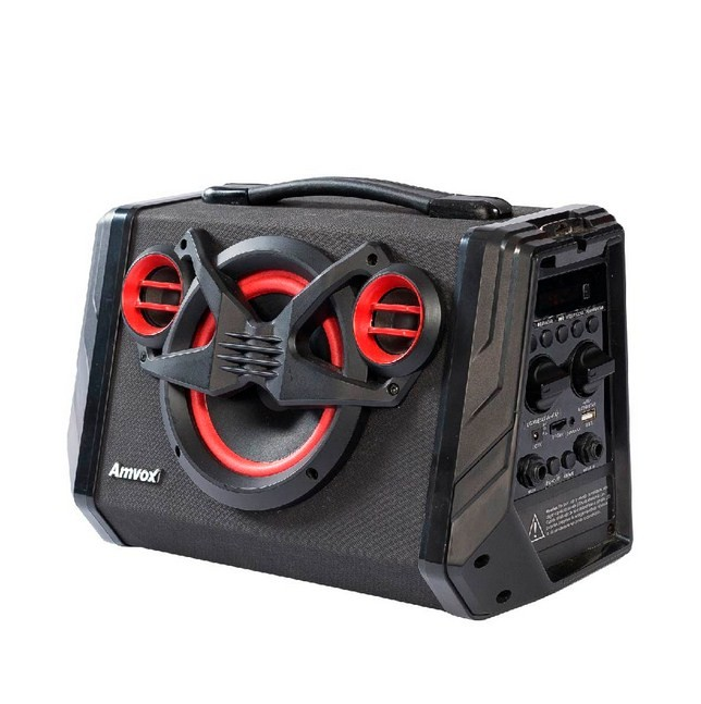 Caixa Amplificada Amvox ACA110 Black
