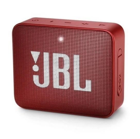 Caixa de Som JBL Go 2 c/ Bluetooth Vermelho