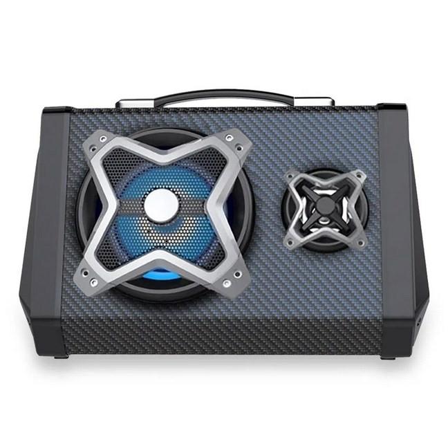 Caixa de Som Multilaser SP314 Led BT/USB/FM/AUX