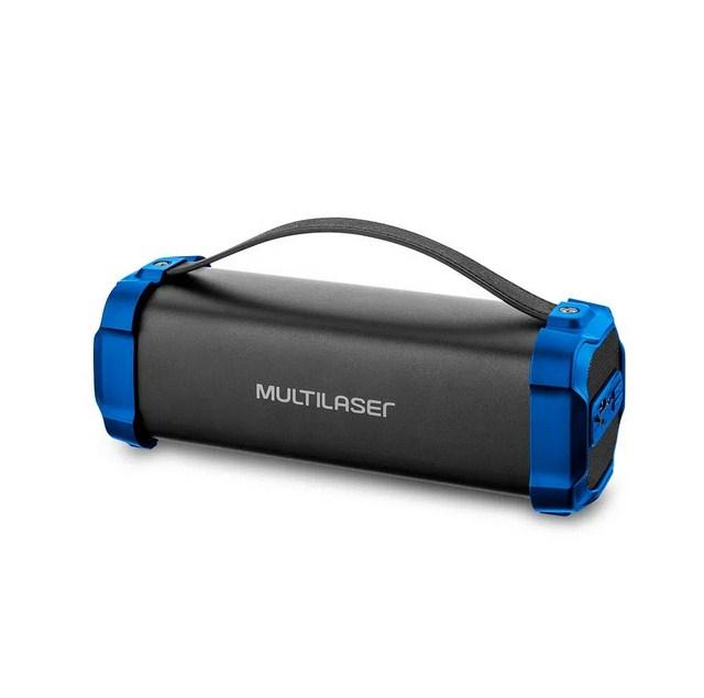 Caixa de Som Multilaser SP350 Bazooka BT/USB/FM 50W