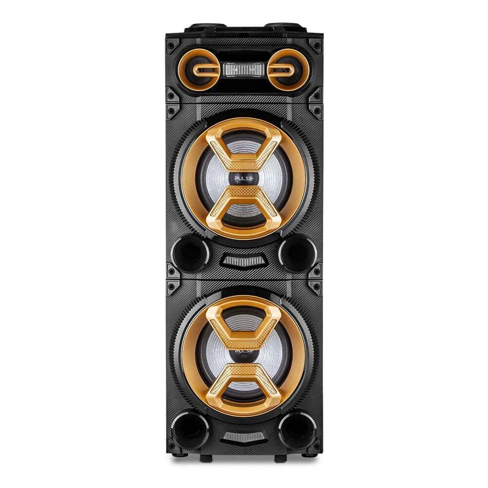 Caixa de Som Pulse Torre Double 12 1600W Multilaser  - SP360
