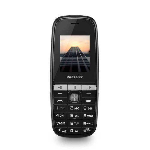 Celular Multilaser Up Play Dual Chip, Câmera, MP3, Rádio FM, Preto - P9076