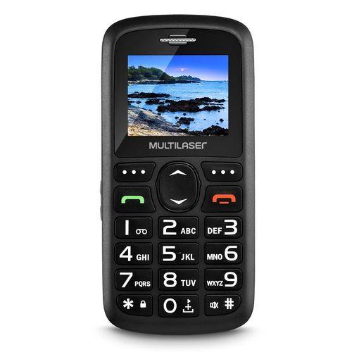 Celular Vita 3 Multilaser P9048 Mp3 Radio Fm Preto