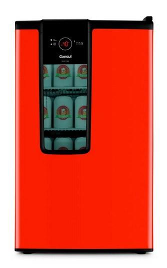 Refrigerador Consul Cervejeira 82 Litros CZD12AVANA 127v Vermelho