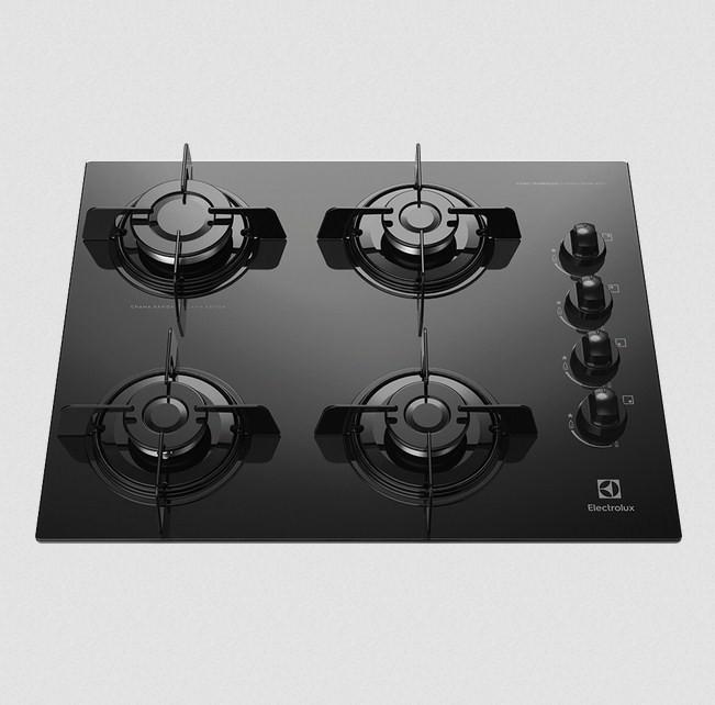 Fogão Cooktop Electrolux KE4GP Gás 4Q