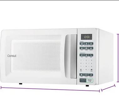 Forno Microondas Consul CMS45Abana 32L Branco 127V