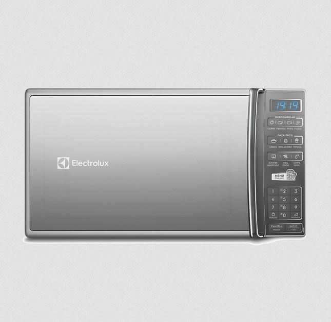 Forno Microondas Electrolux MS37R 27L Silver