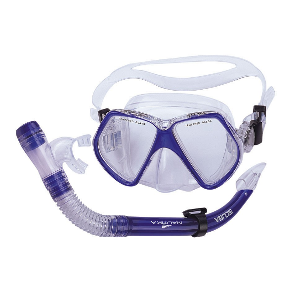 Kit Mergulho 480750 Scuba Azul Nautika