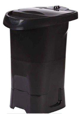 Máquina de Lavar Tanquinho Wanke 4KG Lis Pedestal Preta 127V